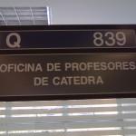 Sector Educación - oficina profesores